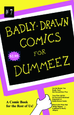 Badly-Drawn Comics issue 7 cover